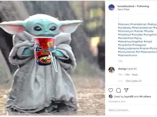 Social Media (Korea Foods UK)
